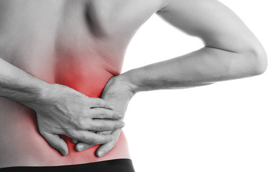 right side back pain causes middle