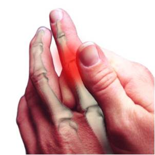finger joint pain arthritis symptoms