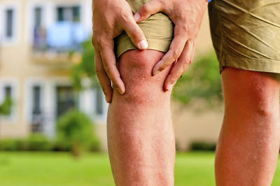 inner knee cap pain running