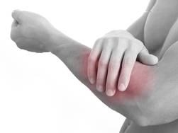 muscle pain in arm after workout