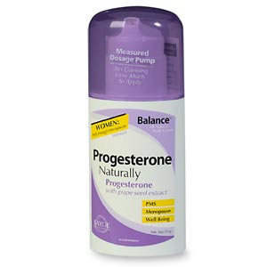 progesterone cream side effects after menopause