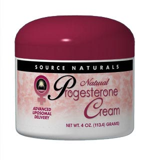 progesterone cream and possible side effects