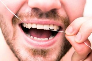 flossing and bad odor