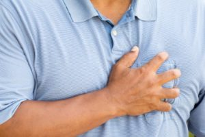 weight loss chest pain fatigue