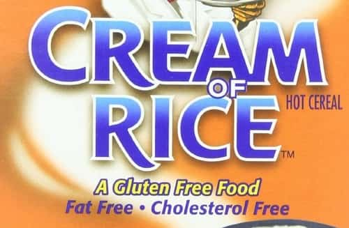 Cream of rice hot cereal - some professional athletes, body builders and dieters enjoy it, and consider it great fuel.