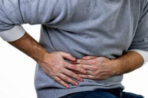 a abdominal pain especially on the right side of your stomach below your rib cage