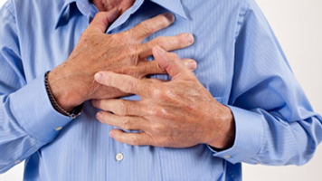 gas chest pain left side