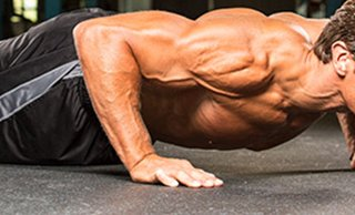 Right shoulder hurts when doing push ups