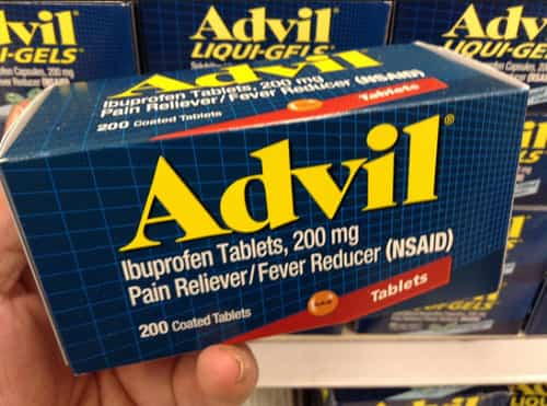 advil blood thinner