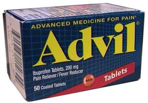 Is advil a blood thinner