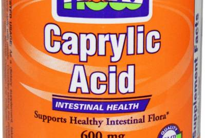 Caprylic acid for systemic candida