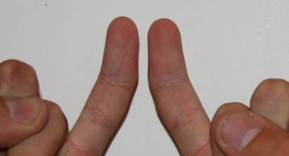 crooked little finger meaning
