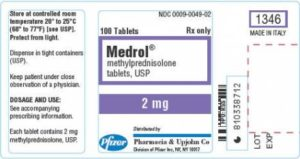 how to take medrol dose pack