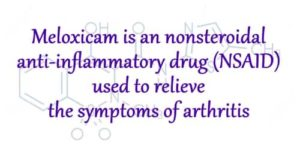 meloxicam abuse information