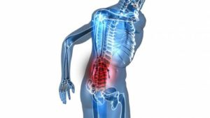 nausea and lower back pain
