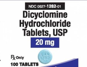 what is dicyclomine hcl used for