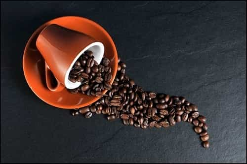 caffeine affects to blood flow