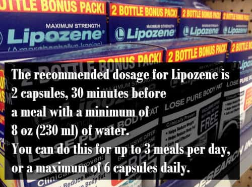 side effects of lipozene