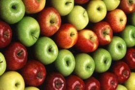 Apples as source of energy for human body
