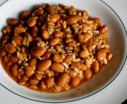 Beans are a natural protein-carbohydrate combination good for almost every half-marathon ranner.