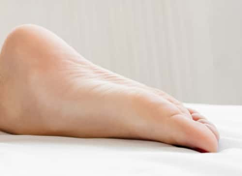 If your ankles hurt at night or while you have them elevated, you'll want to speak to a doctor to rule out the issue.