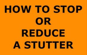 For people who regularly experience stuttering, and for those who experience it due to stress, several methods can help to reduce the frequency or eliminate it altogether.