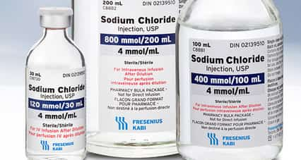 Sodium Chloride 0.9%w/v Solution for Injection should be administered with caution to patients with congestive cardiac failure, pre-eclampsia hypertension, peripheral and pulmonary oedema and impaired renal function.