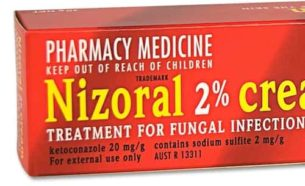 Ketoconazole is used to treat skin infections such as athlete's foot, jock itch, ringworm, and certain kinds of dandruff. This medication is also used to treat a skin condition known as pityriasis (tinea versicolor), a fungal infection that causes a lightening or darkening of the skin of the neck, chest, arms, or legs. Ketoconazole is an azole antifungal that works by preventing the growth of fungus.