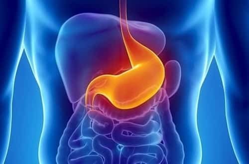 You can get an ulcer in your stomach as well as in your duodenum. Stomach ulcers and duodenal ulcers are both types of peptic ulcers. If you have either of these, you have what's called 'peptic ulcer disease'.
