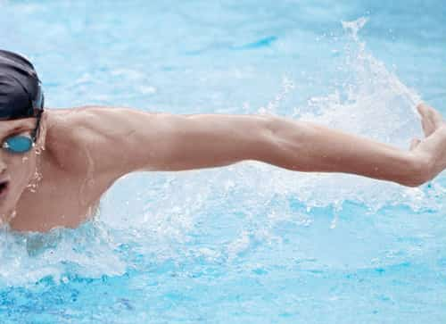 Swimming is good for coronary artery disease