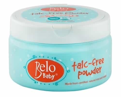 Baby powder without talc is a better solution for your kid.